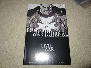 PUNISHER-WAR-JOURNAL-1-BLACK-AND-WHITE-VARIANT-NICE-SHAPE