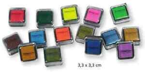 Stempelkissen-klein-und-bunt-verschiedene-Farben-fuer-Stempel-NEU-amp-OVP