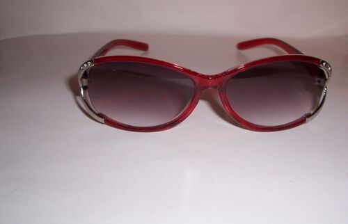 2.25 LIGHTLY TINTED READING GLASSES SUN READERS 225 FULL LENS BURGANDY RED
