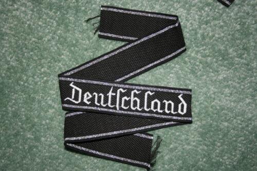 GERMAN DEUTSCHLAND CUFF TITLE ENLISTED EMBROIDERED FILM PROP COPY