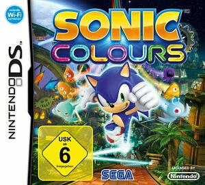 Sonic Colours (Nintendo DS, 2010) - Halver, Deutschland - Sonic Colours (Nintendo DS, 2010) - Halver, Deutschland