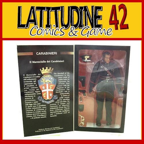 Elite Force Marschall der Carabinieri Action-Figur Deluxe Box 39CM Sammlung