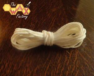 Braided-Cotton-Candle-Wick-10-METRES-for-use-in-1-25-034-Candles-FREE-POSTAGE