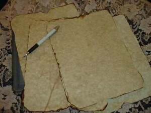 10-SHEETS-AGED-PARCHMENT-PAPER-FOR-CRAFTS-SPELLS