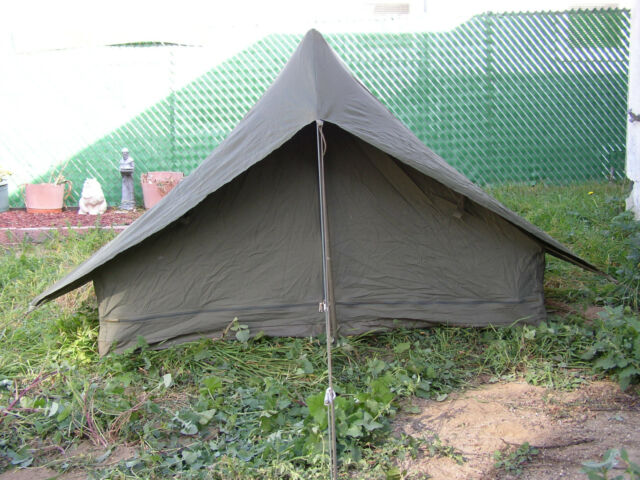 TENT MILITARY  OD GREEN NYLON 6 POUNDS