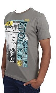 Kids Boys Eto T-shirt Branded Crew Neck Short Sleeve Top Ebts016 7-13 Years