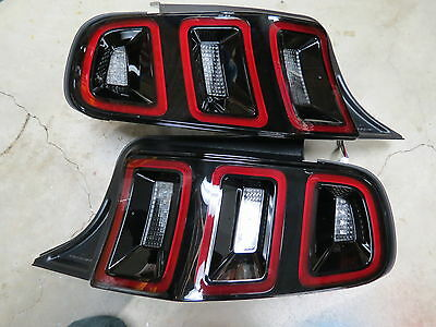 NEW 2013 Ford Mustang Taillight LED PAIR LH/RH Tail Lamp V6 GT Shelby *FIT 2012*