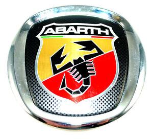 fiat 500 abarth rear tailgate boot badge emblem new genuine 735495890 ebay. Black Bedroom Furniture Sets. Home Design Ideas