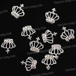 10x-3D-Nail-Art-Alloy-Rhinestones-Crystal-Crown-Glitters-Stickers-DIY-Decoration