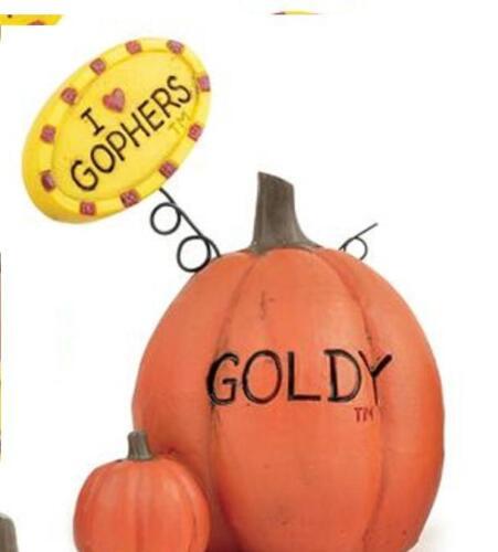 University of Minnesota Pumpkin Figurine by Blossom Bucket~~U choose~So Cute!
