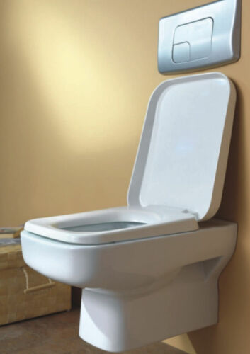 Hänge Wand Wc Taharet Bidet Taharat Wcsitz Toilette SP320 inkl Wc-Sitz Deckel