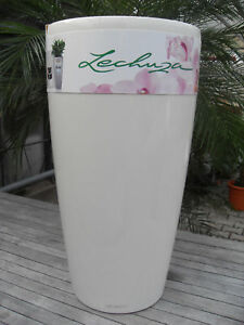 Lechuza-Rondo-40-Premium-weiss-oder-anthrazit-Hochglanz-Komplettset