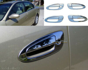 02 06 chrome door handle covers for nissan altima bezel for 02 nissan altima door handle