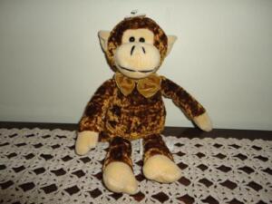 Monkey Stuffed Plush Crushed Velvet Toy Loblaws Canada