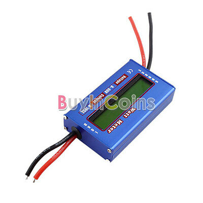 New Digital 60V/100A Battery Balance LCD Voltage Power Analyzer Watt Meter