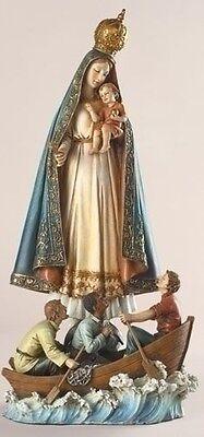 "NEW! 13"" Caridad Del Cobra Cobre Our Lady of Charity Statue Figurine Gift Idea"