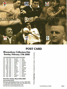 2008-BLOOMSBURY-POSTCARD-FAIR-LIMITED-EDITION-ADVERTISING-POSTCARD