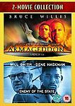 Enemy Of The State/Armageddon [DVD], Excellent DVD, Steve Buscemi, Gene Hackman,