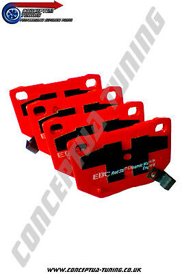 Uprated EBC Redstuff Rear Brake Pads- For R32 Skyline GTR Non V Spec RB26DETT