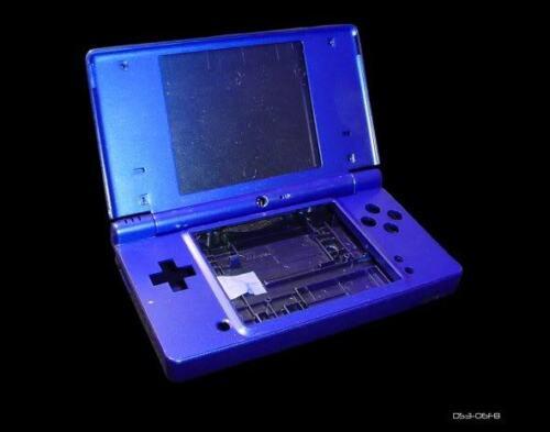 Full Metalic Blue Console Shell Case for Nintendo DSi