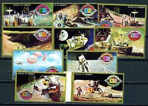 Um-Al-Quwein-US-Apollo-15-in-Space-set-1972-MNH