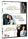 TV Adaptations Triple - Wuthering Heights/Far From The Madding Crowd/Tess Of The D'Urbervilles (DVD, 2008, 3-Disc Set)