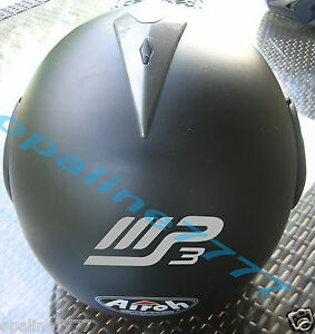 DECAL STICKER PIAGGIO MP REFLECTIVE MOTORCYCLE HELMET SCOOTER - Reflective motorcycle helmet decals