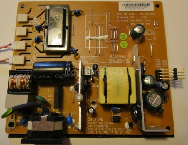 Acer x193w driver main video board ilif-045 490901300200r vga dvi.