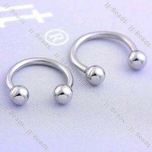Double Hoop G Nose Ring