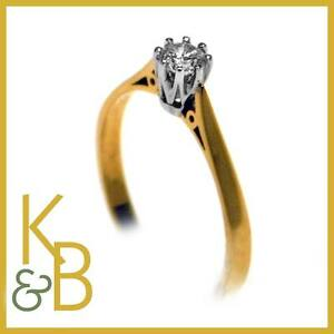 40-OFFLadies-18ct-Gold-0-25ct-Single-Stone-Diamond-Solitaire-Ring-O-1-2-89270