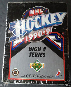 1990-91-UD-NHL-Hockey-High-Number-Series-SEALED-SET-Pavel-Bure-Sergei-Fedorov-RC