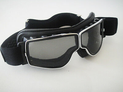 NEW AVIATOR T1 GOGGLES L. JEANTET Cafe Racer WORLD'S GREATEST MOTORCYCLE RIDES