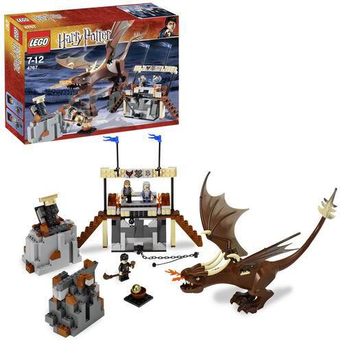 LEGO HarryPotter Der Ungarische Hornschwanz 4767 the the the Hungarian Horntail NEU NEW 220b4c