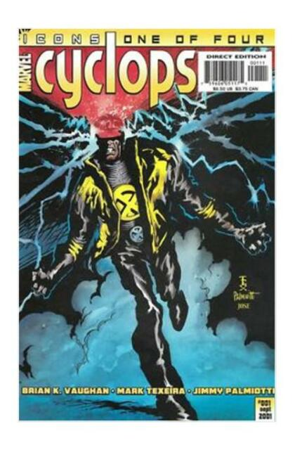 Cyclops #1 (Oct 2001, Marvel)