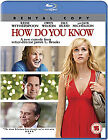 How Do You Know (Blu-ray, 2011)