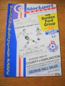 01-12-1990-Stockport-County-v-Darlington-1st-League