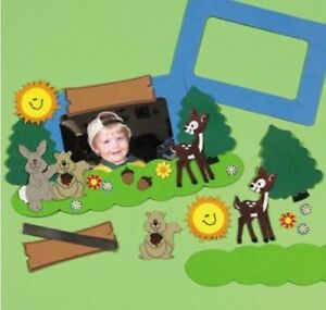 1-Forest-Animal-Friends-Foam-Photo-Frame-Kit-Kids-Craft