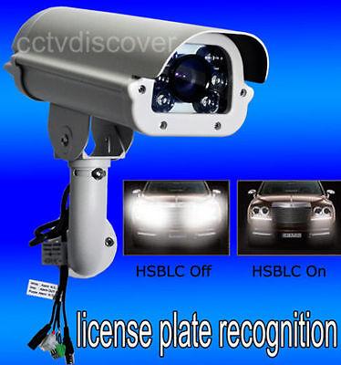 600TVL Hi-Quality ANPR LPR Traffic Camera/6~50mm Vari-focal Lens-FREE Shipping