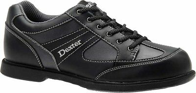 Dexter Men PRO-AM II Black & Grey Alloy Bowling Shoes Left Hand