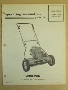 mower vintage yard-man