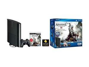 SONY-PS3-500GB-Assassin-039-s-Creed-3-System-Bundle-Retail