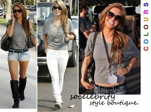 SHORT-OFF-THE-SHOULDER-SLOUCH-BAGGY-BATWING-TOP-SHORT-SLEEVES-6-8-10-12-14-16