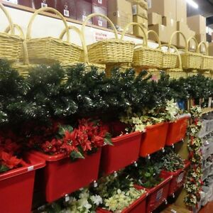 GREEN-CHRISTMAS-GARLAND-WITH-GOLD-OR-SILVER-TINSEL-2-7M-9FT-BY-28CM-WIDE