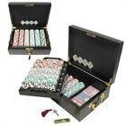 Trademark Poker 500 Chip HIGH ROLLER Set w/Beautiful Mahogany Case