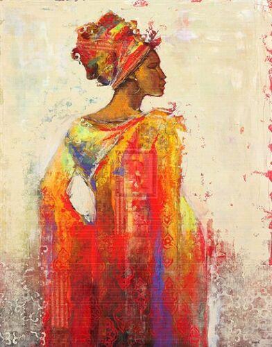 """KAREN DUPRE """"Ashanti"""" african woman ghana headdress NEW"""