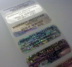 250-WARRANTY-PROTECTION-HOLOGRAM-VOID-LABELS-STICKERS