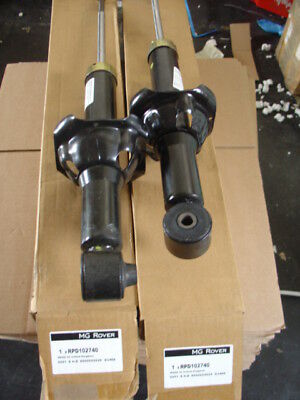NEW ROVER 200Vi 214 216 220D 1996> FACTORY REAR SHOCKS  BOXED