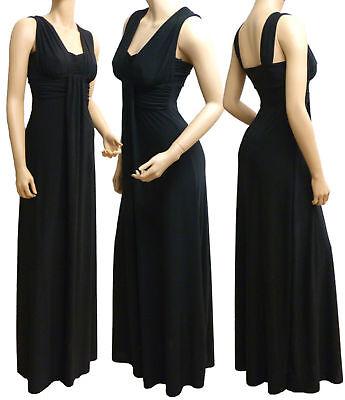 Grecian Long Evening Maxi Dress UK Size 10 - 26 (LR1050 ) In 4 Different Lengths