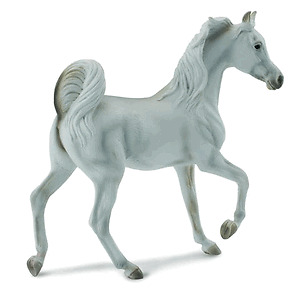 CollectA-88476-Grey-Arabian-Mare-Toy-Collectible-Model-Horse
