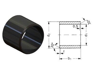 5 Stück wartungsfreies Gleitlager Kugelbuchse D 25 mm